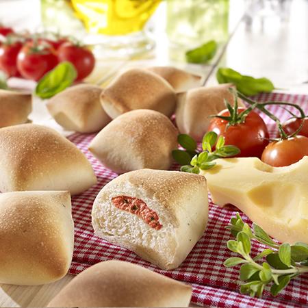 Pizzabrötchen Margherita