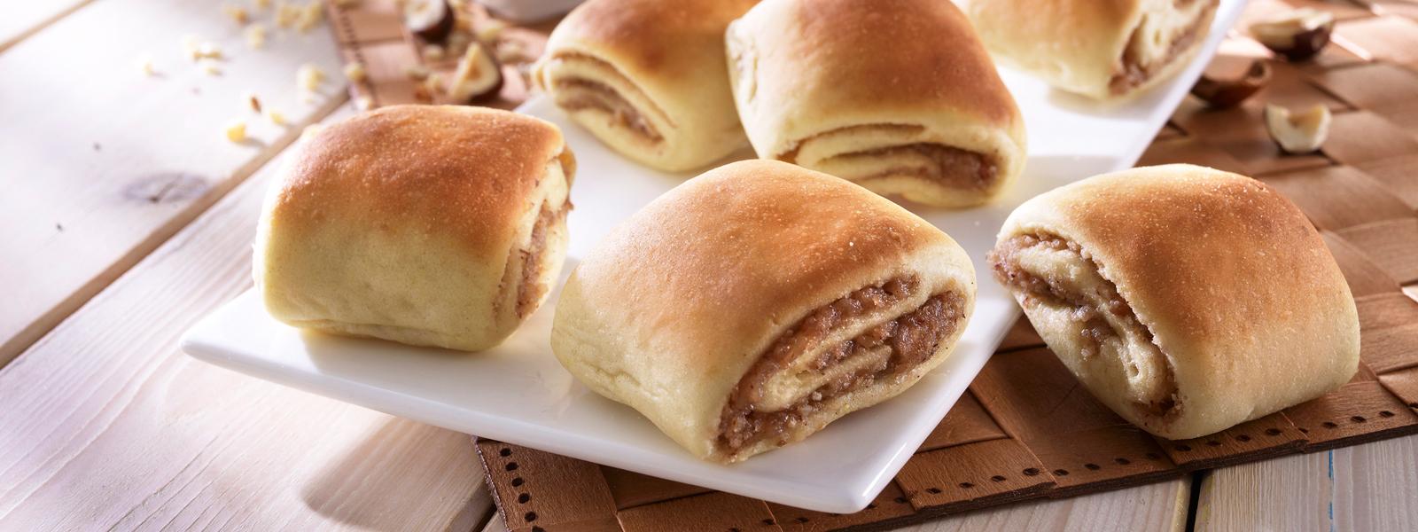 Butterstrudel Convenience Snack zum Aufbacken von Dermaris