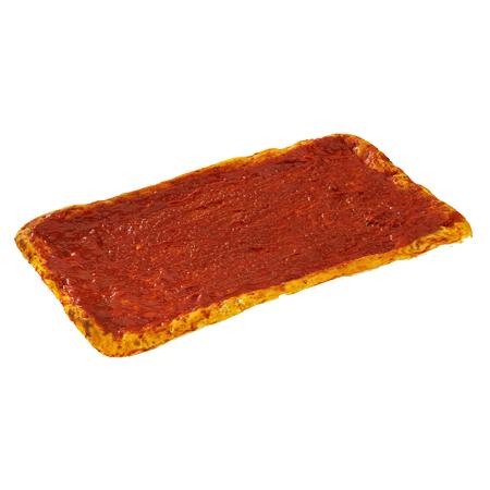 Gastro Pizzaboden mit Soße