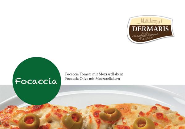 DERMARIS Produktinformation Focaccia