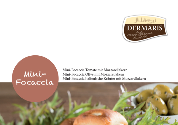 DERMARIS Produktinformation Mini-Focaccia