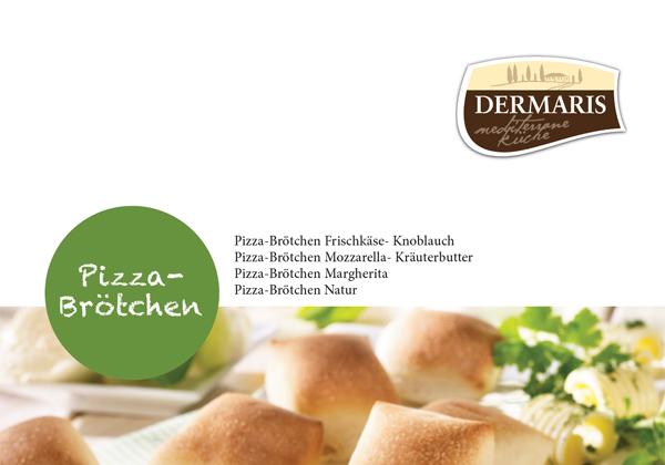 DERMARIS Produktinformation Pizzabrötchen