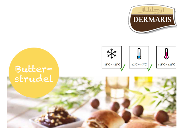 DERMARIS Produktinformation Butterstrudel