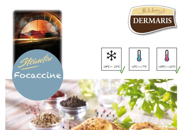 DERMARIS Produktinformation Focaccine