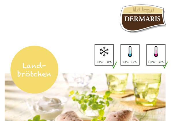 DERMARIS Produktinformation Landbrötchen