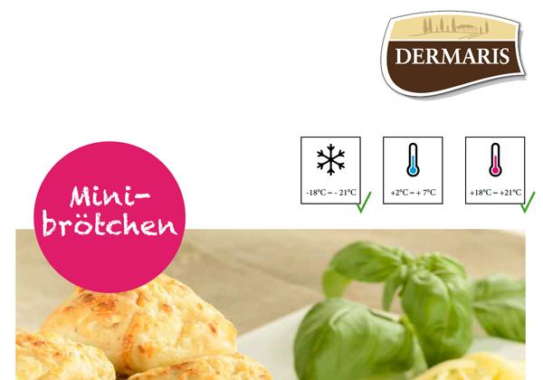 DERMARIS Produktinformation Minibrötchen