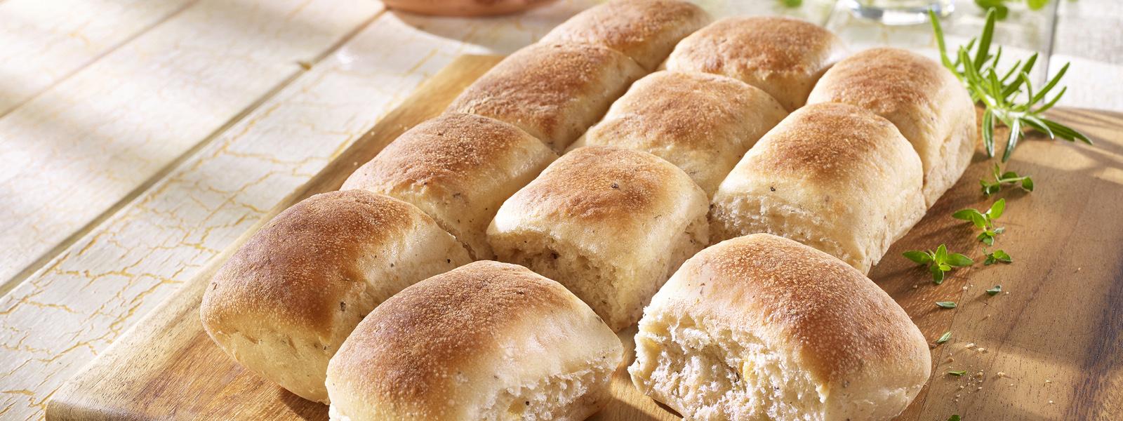 Tapas Brot Rosmarin Knoblauch