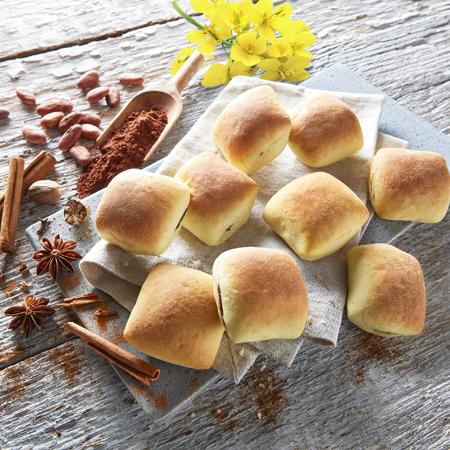 Broiche Brötchen Chock mit Lebkuchengewürz von Dermaris