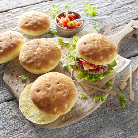 Mini Burger Buns Brioche
