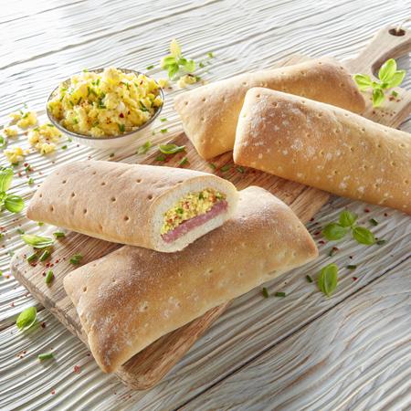 Bifi Snack mit Rührei